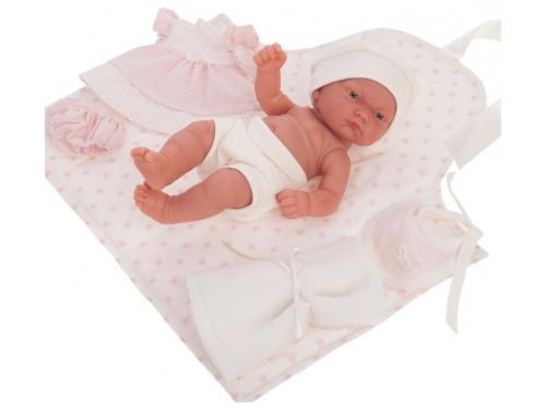 Кукла младенец Antonio Juan Хлои в розовом, 26 см, 4071P, вид 1