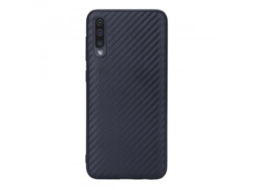Чехол для смартфона G-Case Carbon для Samsung A50 SM-A505F, черный, вид 1
