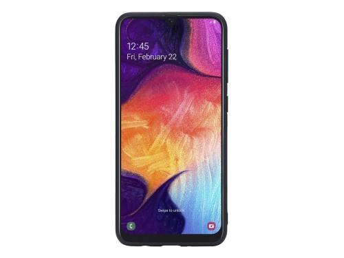 Чехол для смартфона G-Case Carbon для Samsung A50 SM-A505F, черный, вид 6