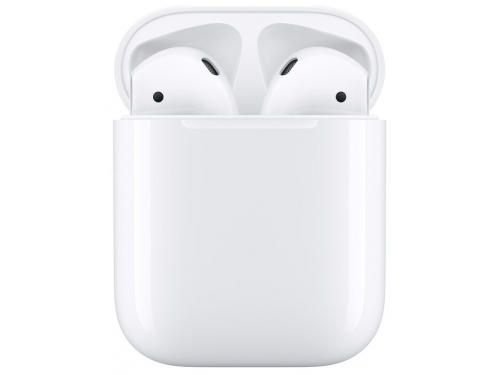 Наушники Apple AirPods (2019) MV7N2RU/A, белые, вид 2