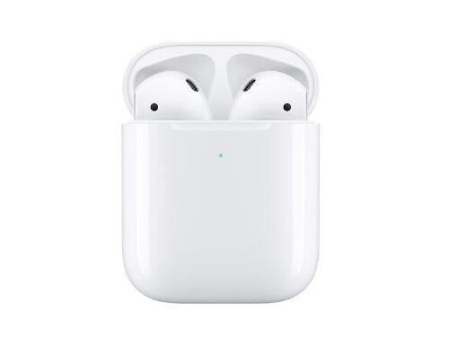 Наушники Apple AirPods (2019), MRXJ2RU/A, вкладыши, белый, вид 1