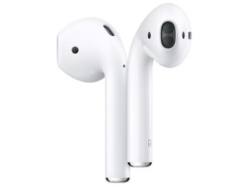 Наушники Apple AirPods (2019), MRXJ2RU/A, вкладыши, белый, вид 3