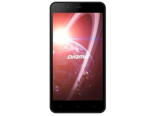 Смартфон Digma Linx C500 3G 4Gb, черный, вид 1