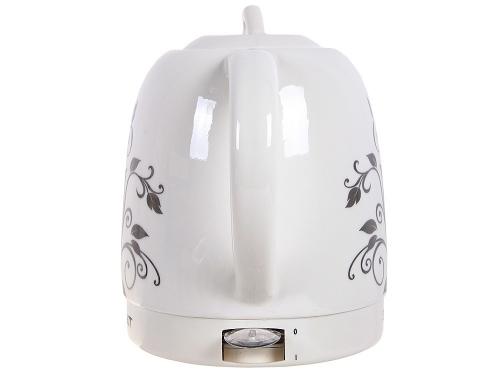 Чайник электрический Scarlett SC-024, белый с рисунком, вид 2