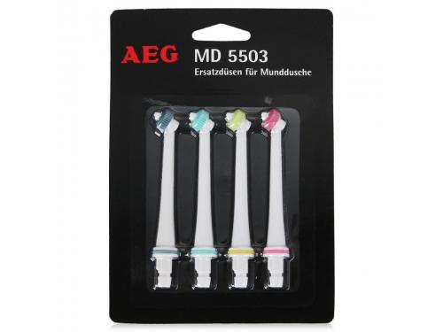 Аксесуар для зубной щётки Сменные насадки AEG MD 5503, для ирригатора, вид 1