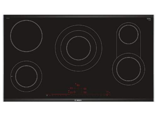 Варочная поверхность Bosch PKV975DC1D, черная, вид 1