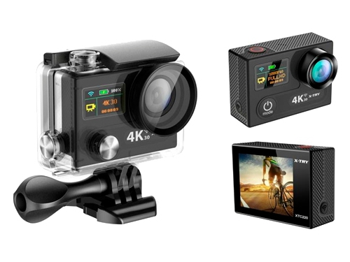 Видеокамера X-TRY XTC220 UltraHD + Remote, вид 1