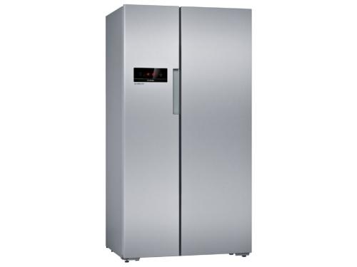 Холодильник Bosch KAN92NS25R, серебристый, вид 1