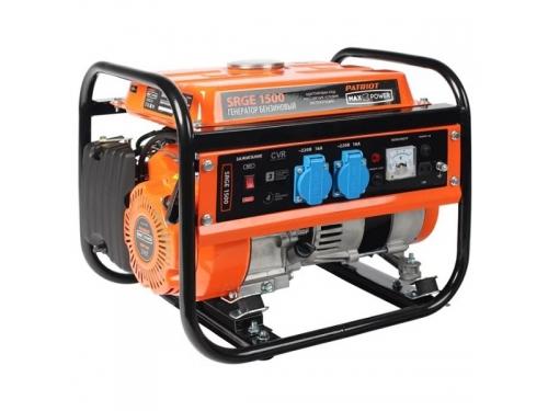 Электрогенератор PATRIOT Max Power SRGE 1500 Бензиновый генератор, вид 1