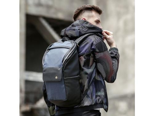 Рюкзак городской TANGCOOL TC725, синий-черный, 15.6