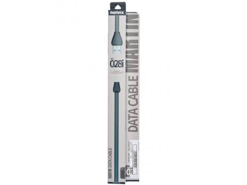 Кабель / переходник REMAX Martin A-C-023 (USB (M) — Lightning (M)), чёрный, вид 2