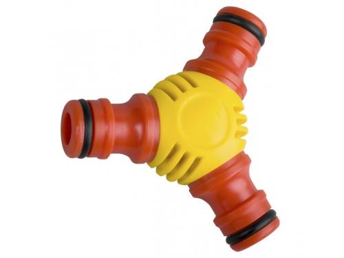 Аксессуар к поливочной технике тройник GRINDA Premium 8-426439, шланг-шланг, вид 1