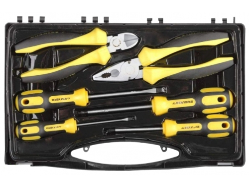 Набор инструментов Stayer 2202-H6, 6 предметов, вид 1
