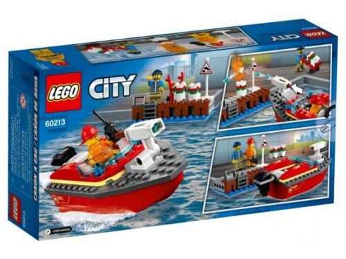 Конструктор LEGO CITY Пожар в порту (60213), вид 2