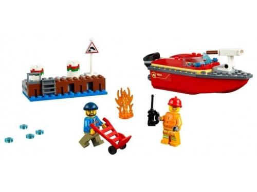 Конструктор LEGO CITY Пожар в порту (60213), вид 3