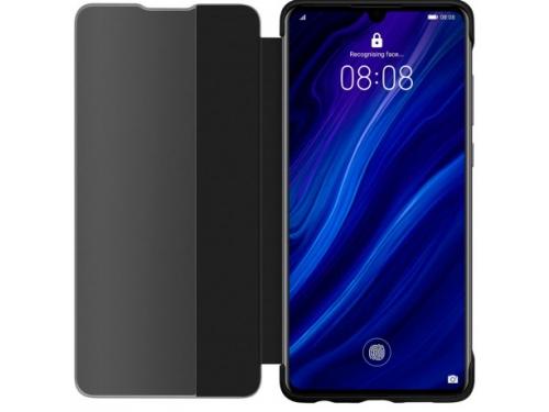 Чехол для смартфона Huawei Smart View Flip для Huawei P30 чёрный, вид 4