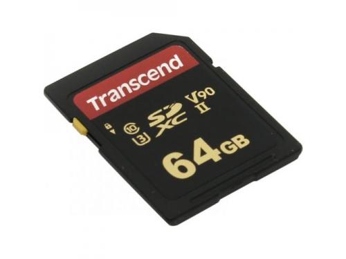 Карта памяти Transcend TS64GSDC700S 64Gb, Class 10, UHS-II U3, MLC, вид 1