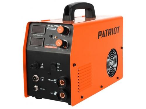 Сварочный аппарат Patriot WMA 185AL MIG/MAG/MMA, полуавтоматическая сварка, вид 1