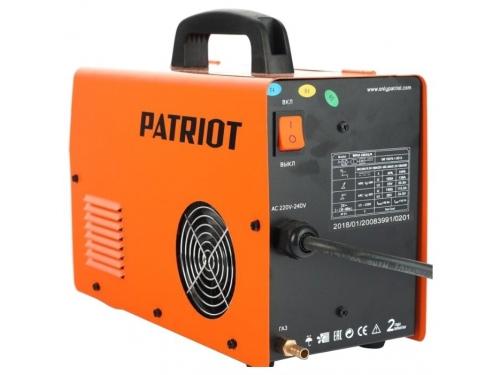 Сварочный аппарат Patriot WMA 185AL MIG/MAG/MMA, полуавтоматическая сварка, вид 3