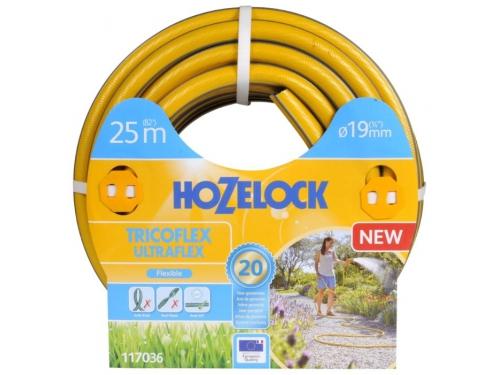Садовый шланг HOZELOCK 117036 TRICOFLEX ULTRAFLEX  25м 3/4'' пвх 5-слойный, вид 1