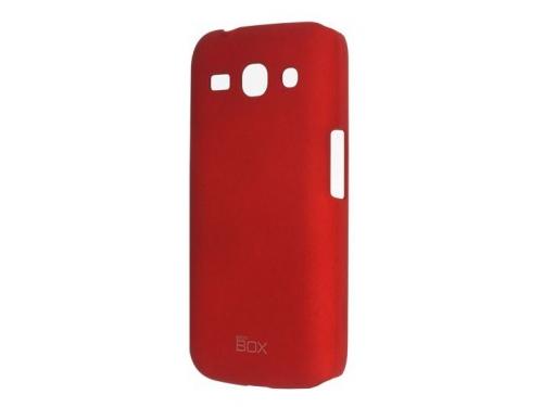 Чехол для смартфона SkinBox для Samsung Galaxy J1 (2016) Серия 4People (красный), вид 3