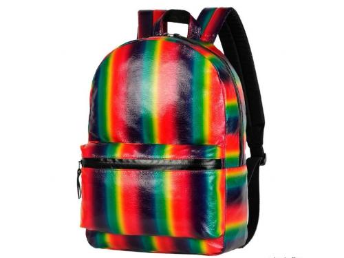 Рюкзак городской NOSIMOE 1304-10K радуга (красн-желт), вид 1