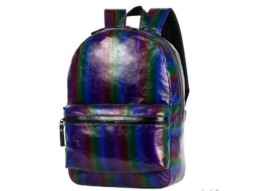 Рюкзак городской NOSIMOE 1304-10K радуга (фиолет-син), вид 1