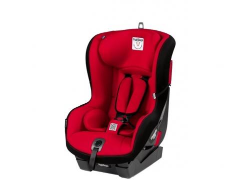 Автокресло детское Peg-Perego Viaggio Duo-Fix К группа 1, (9-18 кг), цвет Rouge (красн+черн), вид 1