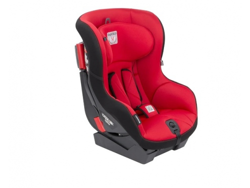 Автокресло детское Peg-Perego Viaggio Duo-Fix К группа 1, (9-18 кг), цвет Rouge (красн+черн), вид 2