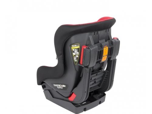 Автокресло детское Peg-Perego Viaggio Duo-Fix К группа 1, (9-18 кг), цвет Rouge (красн+черн), вид 3