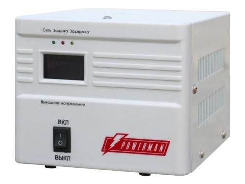 Стабилизатор напряжения PowerMan AVS 500A 500VA, вид 2