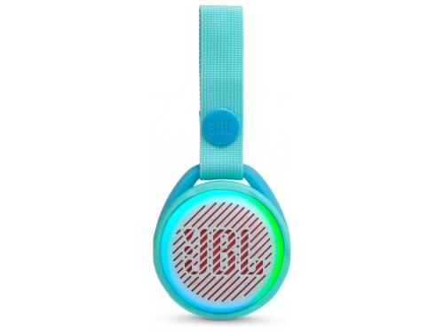 Портативная акустика JBL Pop Pink голубая, вид 2