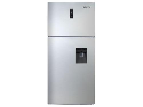 Холодильник Ginzzu NNFK-505 Steel 483 л, сталь, вид 1
