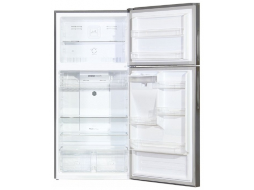 Холодильник Ginzzu NNFK-505 Steel 483 л, сталь, вид 2