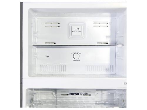 Холодильник Ginzzu NNFK-505 Steel 483 л, сталь, вид 3