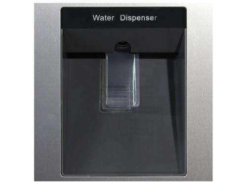 Холодильник Ginzzu NNFK-505 Steel 483 л, сталь, вид 4