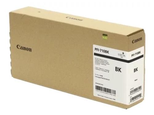 Картридж для принтера Canon PFI-710 BK (2354C001), черный, вид 1