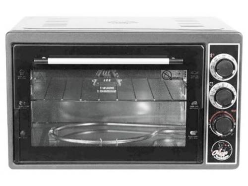 Мини-печь, ростер Чудо Пекарь ЭДБ-0124 серебристый металлик, вид 1
