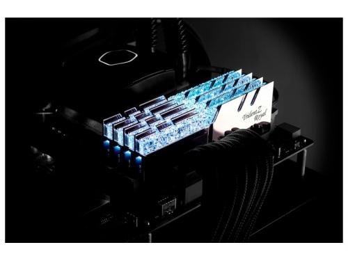 Модуль памяти G.Skill Trident Z Royal F4-4000C19D-32GTRS 4000MHz 2x16Gb, вид 5