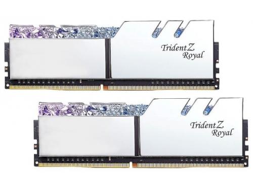 Модуль памяти G.Skill Trident Z Royal F4-4000C19D-32GTRS 4000MHz 2x16Gb, вид 1