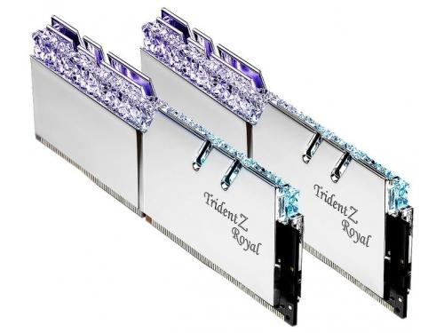 Модуль памяти G.Skill Trident Z Royal F4-4000C19D-32GTRS 4000MHz 2x16Gb, вид 2