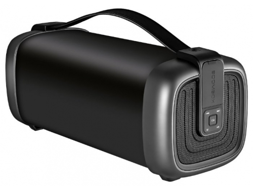 Портативная акустика Ginzzu GM-878B (колонки) черные, вид 1