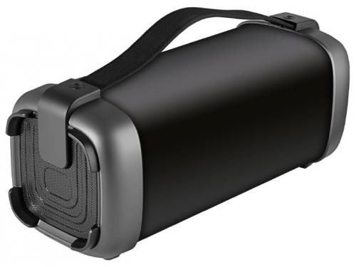 Портативная акустика Ginzzu GM-878B (колонки) черные, вид 2