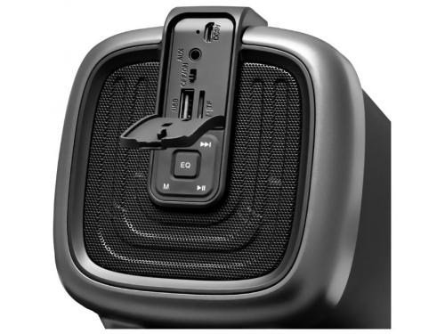 Портативная акустика Ginzzu GM-878B (колонки) черные, вид 3
