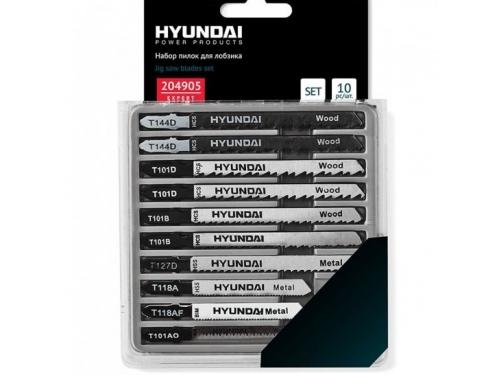 Пилка для лобзика Hyundai 204905 (по дереву), вид 1