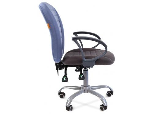 Кресло офисное Chairman 9801 Эрго Россия сид.10-128 серый/сп.10-141 голубой, вид 3