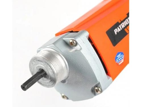 Строительное оборудование вибратор глубинный Patriot CV 100 (для бетона, 1000 Вт, с гибким валом и булавой), вид 6