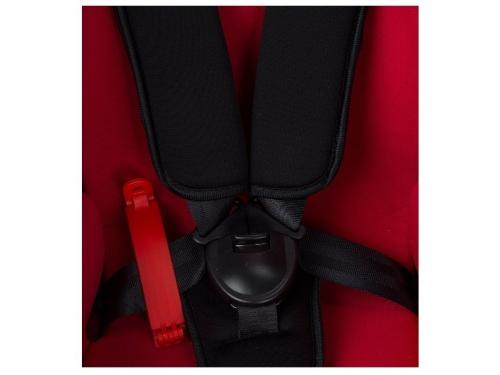 Автокресло детское Leader Kids RALLY II, 0-18 кг, Leaf Red (красный+принт деревья),0-1 гр., вид 6