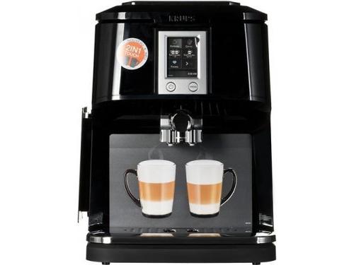 Кофемашина Krups EA8808, черная, вид 1