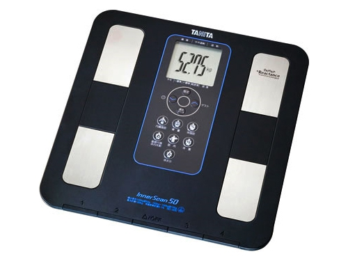 Напольные весы Tanita BC-351, черные, вид 1